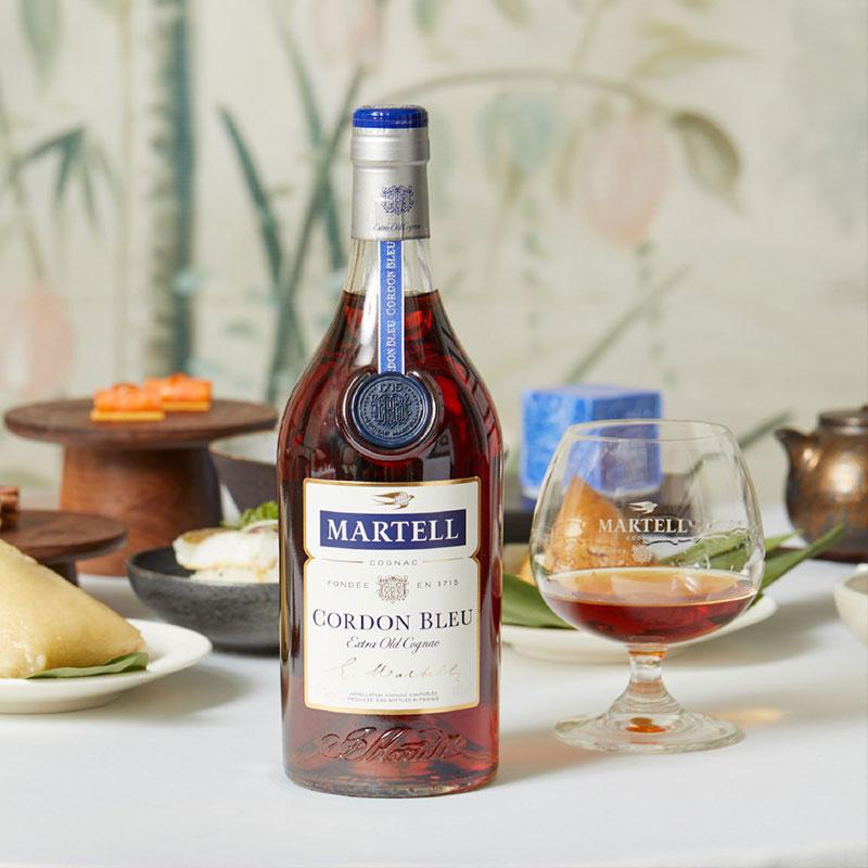 Martell马爹利 蓝带700ml干邑白兰地洋酒法国原装进口海外直供正品 马爹利蓝带700mL