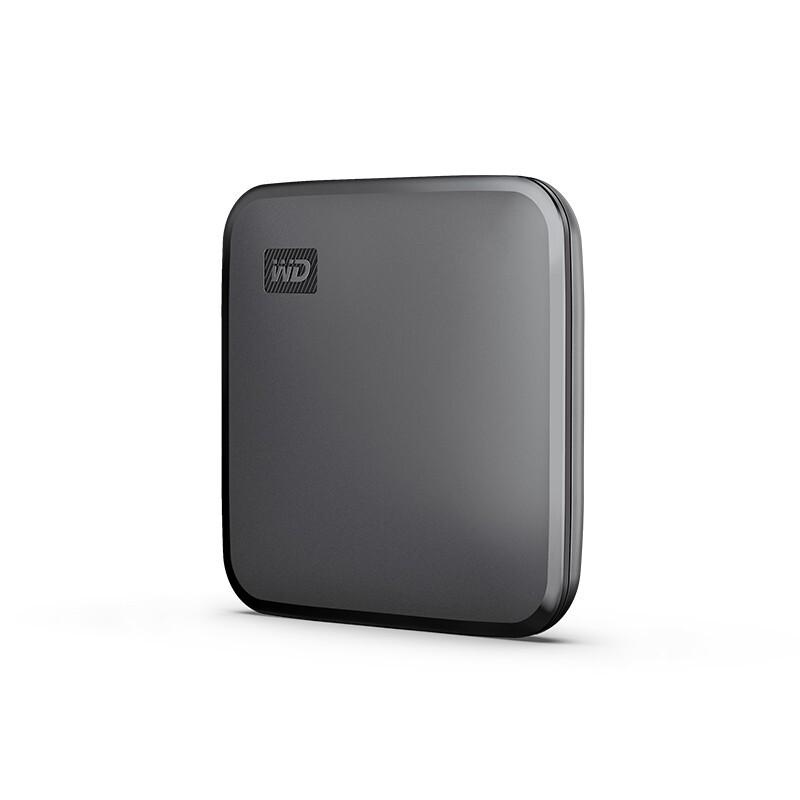 Western Digital 西部数据 Elements SE 新元素 PSSD  移动固态硬盘 480GB