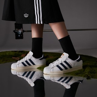 adidas 阿迪达斯 官网三叶草SUPERSTAR 男女贝壳头板鞋FW6592