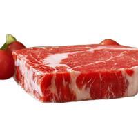 PLUS会员:WOWBEEF 万馨沃牛 谷饲原切安格斯M3厚切眼肉牛排 250g