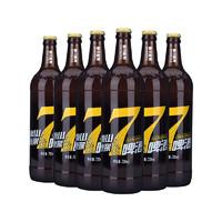 TAISHAN 泰山啤酒 7天鲜活啤酒 720ml*6瓶