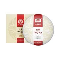 PLUS会员:TAETEA 大益 经典7572 普洱熟茶  150g