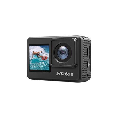 MOREcam 魔看 A10 Pro 双彩屏运动相机 黑色