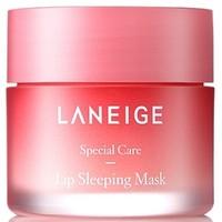 88VIP:LANEIGE 兰芝 夜间保湿修护唇膜 莓果味 20g