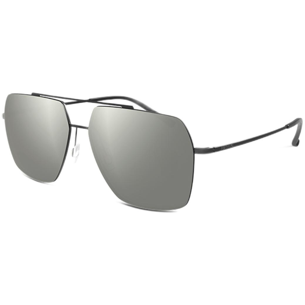 PROSUN 保圣 男女款太阳镜 PS7033D10 半光哑黑框金片