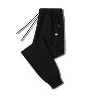 mulinsen男运动长裤宽松跑步针织裤裤子卫裤户外休闲裤