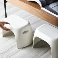 塑料凳子加厚家用小号换鞋凳小坐凳浴室凳两件套DX115030