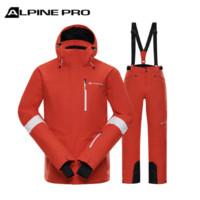 ALPINE PRO 阿尔派妮  MJCM308CN 男士滑雪服套装