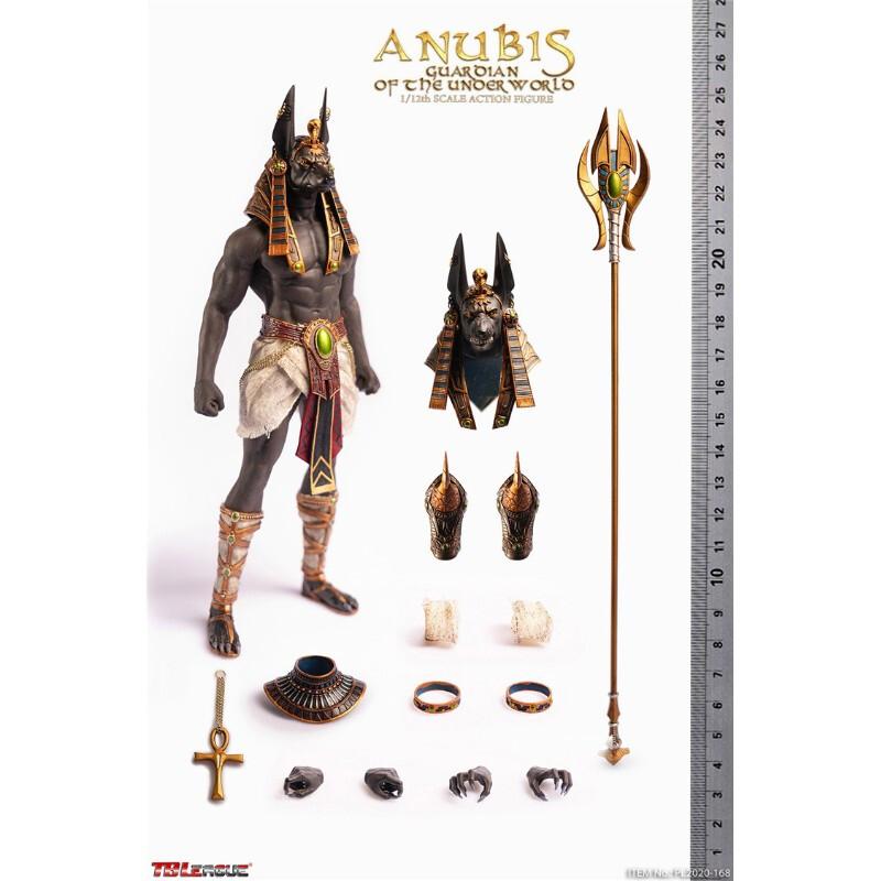 现货 TBLeague PL2020-168 1/12 冥界之神 Anubis 阿努比斯 可动兵人手 1/12的全新现货拍下即发 不支持退换