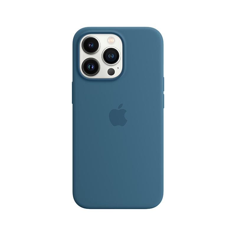 Apple iPhone 13 Pro 专用 MagSafe 硅胶保护壳 iPhone保护套 手机壳 - 雀羽蓝色