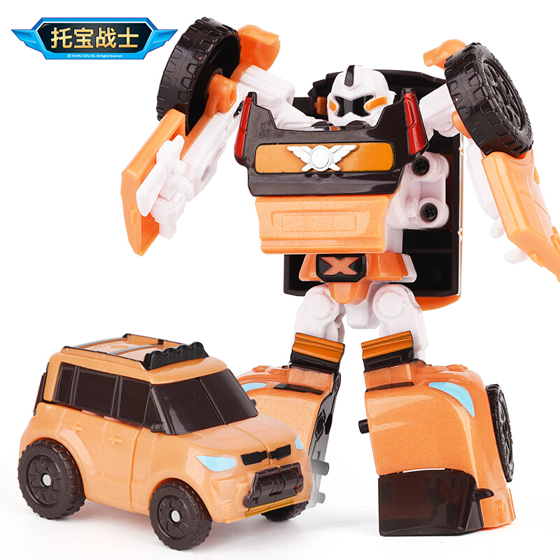 托宝战士TOBOT托宝兄弟玩具金刚变形车机器人小男女孩玩具儿童礼物汽车X战士迷你版301020