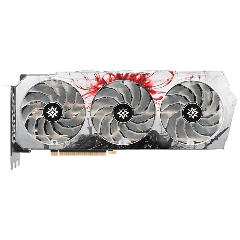 GALAXY 影驰 星曜系列 GeForce RTX 3070 超频锁算力永劫无间版 显卡 8GB 白色