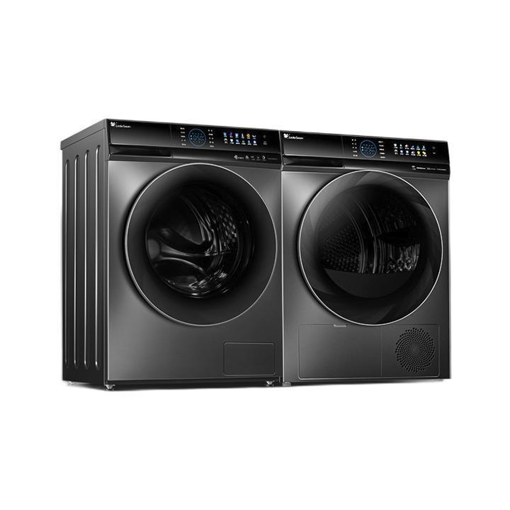 LittleSwan 小天鹅 水魔方系列 TG100V89MUIT+TH100VH89WT 洗烘套装