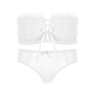 Glambody MAGIC NATURAL LINE 682101 女士内裤文胸套装 白色 70A