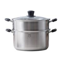 88VIP:Midea 美的 不锈钢双层蒸锅 24cm