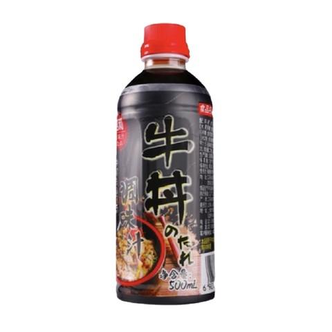 周四白菜日:昭和 盖饭牛丼调味汁 500g+拌饭素