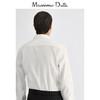 Massimo Dutti男装 棉质人字细纹男士休闲衬衫 00178458250 xl