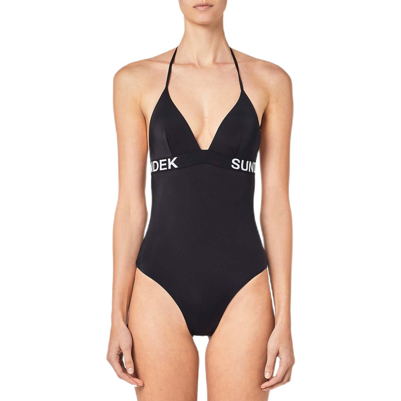 SUNDEK GABRIELA 女子连体式泳衣 W143KSL3000-004 黑色