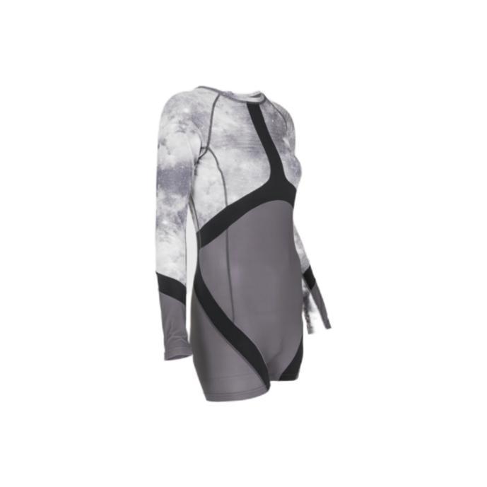 AZTRON STELLA 女子连体冲浪泳衣 AA-SW100 灰色/白紫