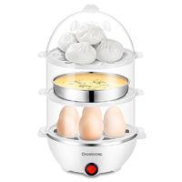CHANGHONG 长虹 NR01蒸蛋器自动断电煮鸡蛋器小型家用蒸蛋羹机多功能早餐神器
