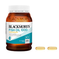 BLACKMORES 澳佳宝 无腥味深海鱼油胶囊 400粒