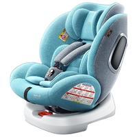 happybe 贝蒂乐 儿童安全座椅 0-12岁 薄荷绿