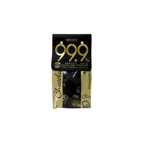 BENNS 99.9% 无糖黑巧 300g