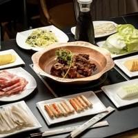 北京3店通用 128元享穆益轩羊蝎子火锅3-4人餐