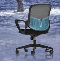 YANXUAN 网易严选 4002491 小白鲸 现代简约电脑椅 黑框黑布