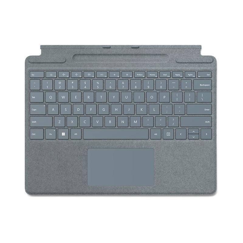 Microsoft 微软 Surface Pro 8/Pro X 特制版专业键盘盖 冰晶蓝