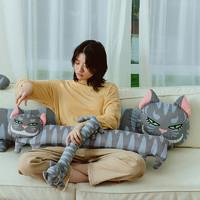 carihome 笑脸猫玩偶公仔睡觉大抱枕床上长条夹腿抱枕女生创意礼物  96cm