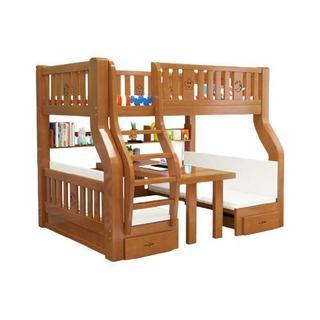 子母床 书桌直梯款 上铺140cm 下铺160cm