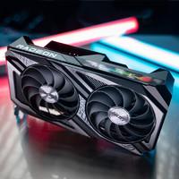 华硕 ASUS AMD RX6600XT-O8G 电竞主机台式机游戏独立显卡 ROG-STRIX-RX6600XT