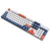 SUNSONNY 森松尼 J9 104键 有线机械键盘 深蓝白橙三拼 集贤茶轴 单光