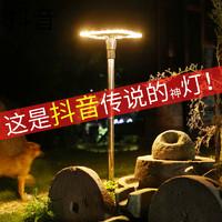 Meixin Lighting 美昕灯饰 太阳能草坪灯户外庭院装饰景观院子装饰防水地插小夜灯天黑自动亮