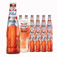 Kronenbourg 1664凯旋 白啤酒 玫瑰味 250ml*24瓶