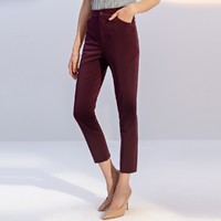NAERSI 娜尔思 女士秋装休闲裤 NV01525A8