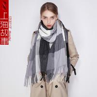 shanghai story 上海故事 10024752291918 格子围巾