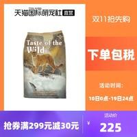 Taste of the Wild 荒野盛宴 无谷鳟鱼三文鱼全猫粮2kg