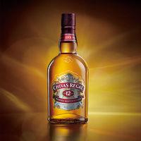 CHIVAS 芝华士 12年苏格兰威士忌500ml*1瓶 英国原装进口 鸡尾酒洋酒烈酒