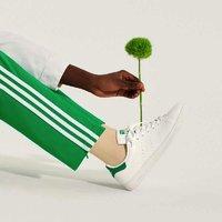adidas 阿迪达斯 Stan Smith 环保款再生材料绿尾中性休闲鞋(319元/件)