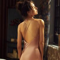 XIZEMO 熙泽陌 2020-1 女士短款吊带睡裙