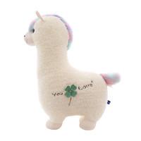 吉娅乔 梦幻神兽羊驼毛绒玩具