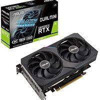 ASUS 华硕 Tek DUAL NVIDIA GeForce RTX 3060 Ti 搭载显卡 OC / PCIe 4.0 / 8GB GDDR6 / HDMI 2.1