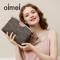 oimei斜挎包女夏女士单肩小包包中年女包婆婆大气送妈妈款包包