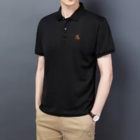 MULINSEN 木林森 2021夏季新款POLO衫男款休闲短袖翻领T恤M-4XL户外休闲衣