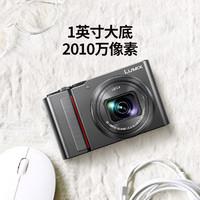 Panasonic 松下 ZS220 家用旅行 长焦数码相机/卡片机 徕卡镜头 黑色