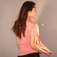 adidas 阿迪达斯 官网旗舰adidas短袖女夏季半袖训练跑步瑜伽运动速干T恤
