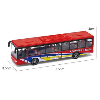 纽彼 仿真回力公交巴士
