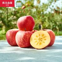 PLUS会员:NONGFU SPRING 农夫山泉 新疆阿克苏苹果礼盒 果径75mm 15个装